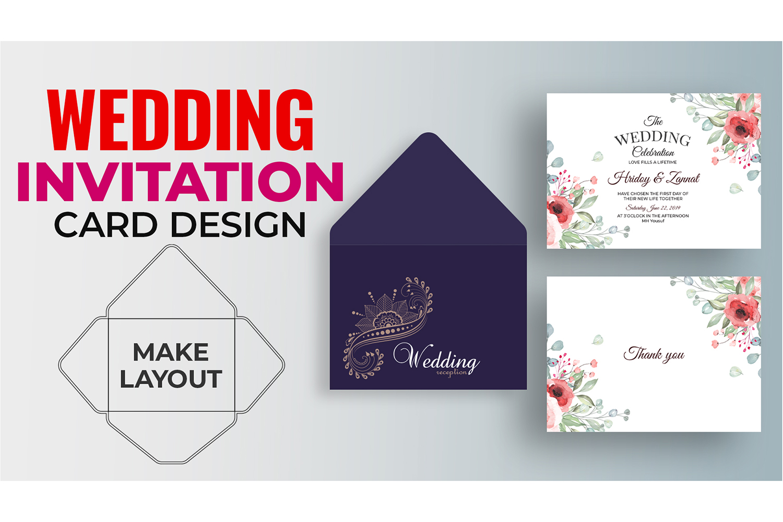 How to Make Wedding Invitation Card Design in Illustrator