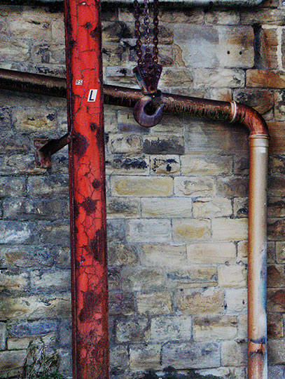 urban photography, urban decay, industrial, art, contemporary, Sam Freek, rust, machinery,