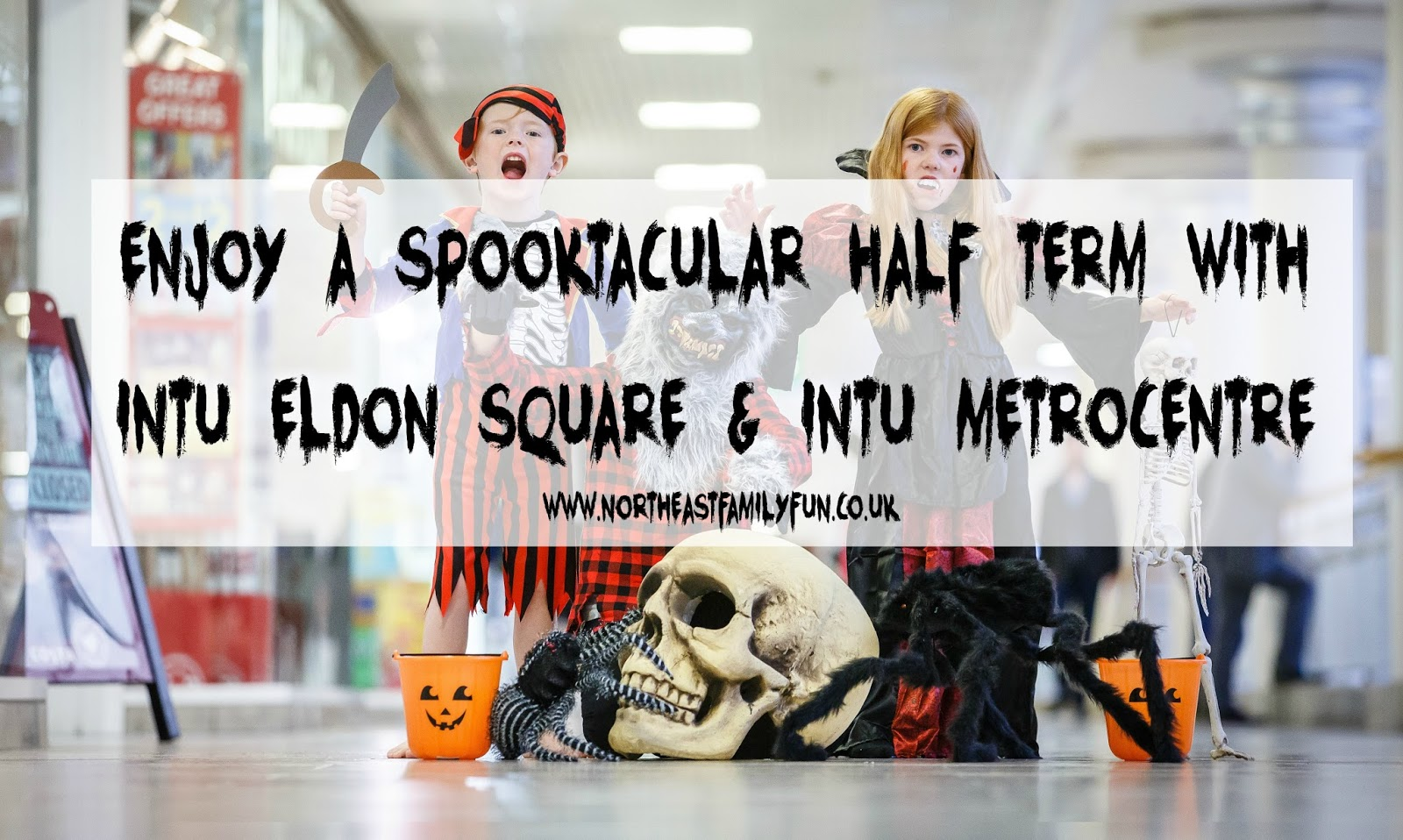 A guide to FREE Halloween crafts and events at intu Eldon Square Newcastle and intu Metrocentre Gateshead this October Half Term