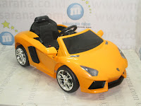 Mobil Mainan Aki DoesToys DT7013 Lamborghini Aventador LP 700 - 4 Lisensi