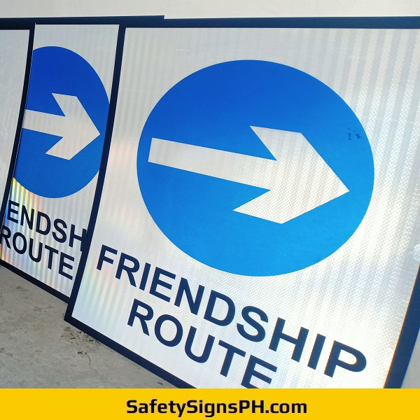 Friendship Route Signs