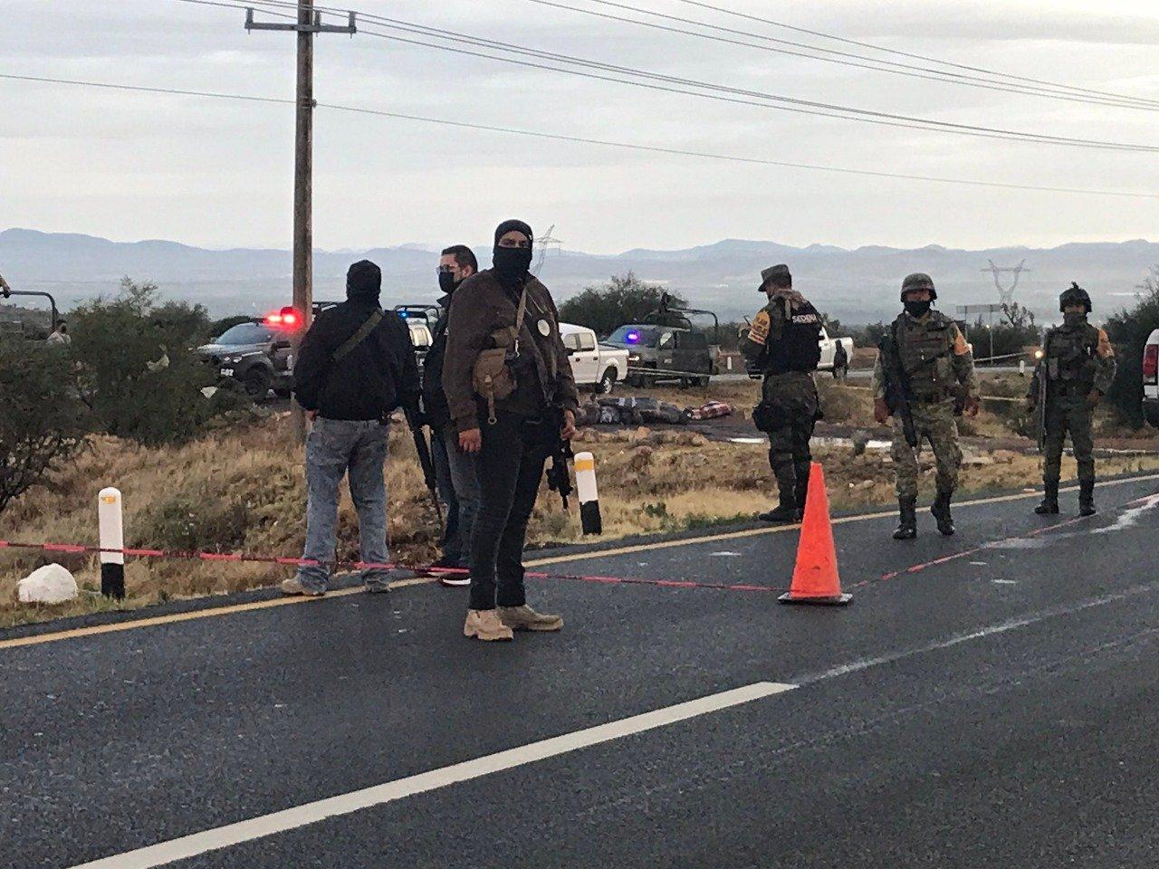 Sicarios ejecutan y tiran los cuerpos de 14 personas en Fresnillo; Zacatecas