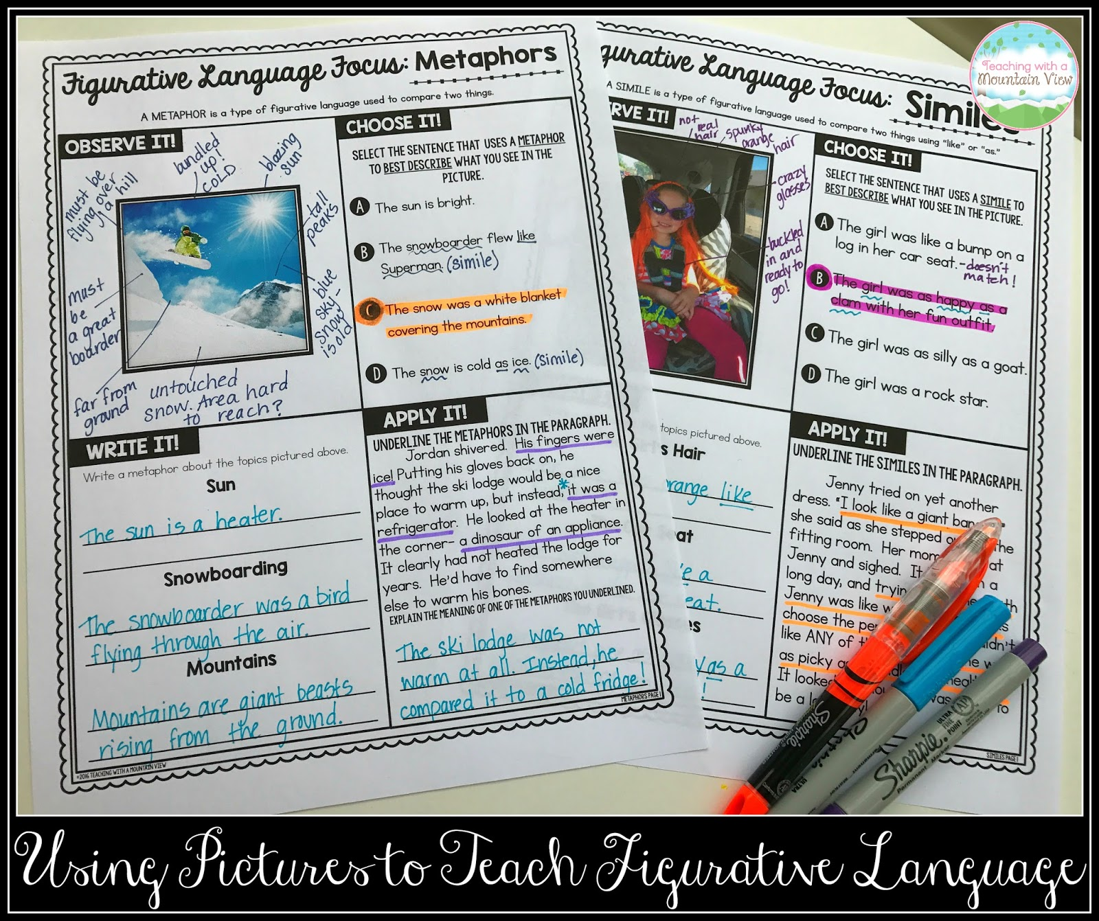 Magnificent Print Figurative Language In Worksheets Quiz Worksheet ...