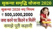 सुकन्या समृद्धि योजना 2020: Sukanya Samriddhi Yojana 2020 नये नियम- जाने सब कुछ