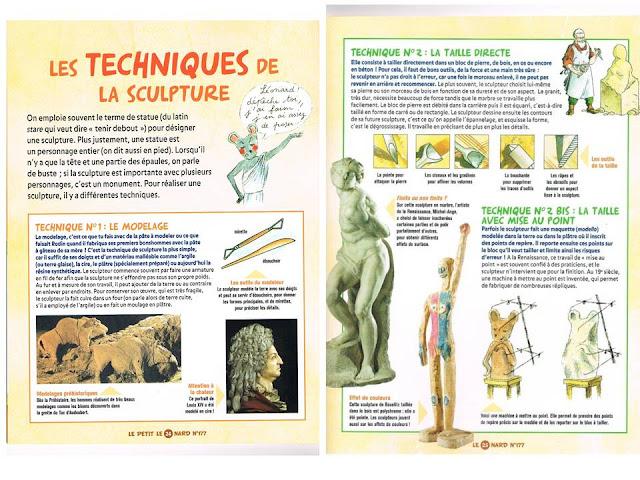Sztuka - techniki rzeźbiarstwa 1 - Francuski przy kawie