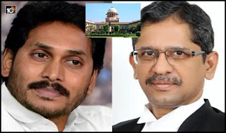 Shock to AP CM in Supreme Court..Clean chit to NV Ramana in Amravati land scam