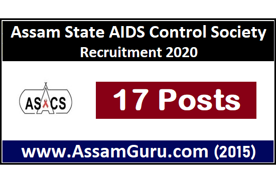 Assam State AIDS Control Society job 2020