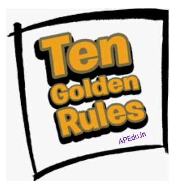 10 Golden Rules on Spelling Correction in English Grammar