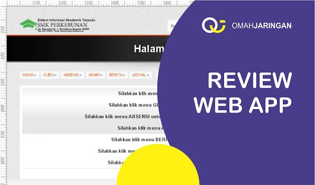 Review Sistem Informasi Akademik Sekolah SMA, SMK, Universitas dengan Codeigniter