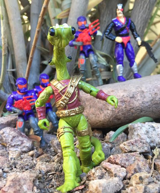 1994 Mexican Lobotomaxx, Lunartix Alien, Star Brigade, Major Bludd, Cobra Viper