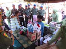 POMDAM XIII/Mdk Selenggarakan Bazar Murah Rangkaian HUT Pomad