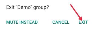 WhatsApp Group Se Kaise Nikle