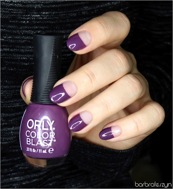 Orly Color Blast Purple Matte Satin
