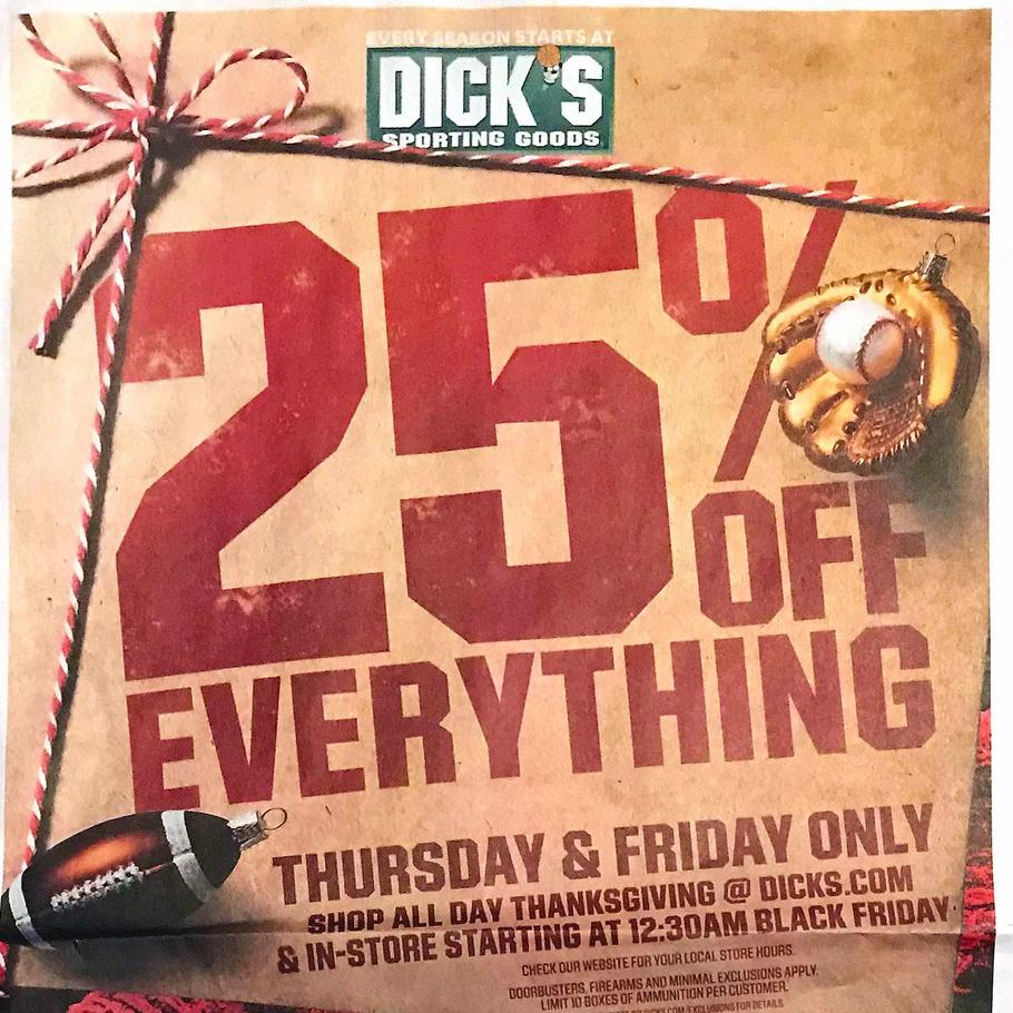 Dicks Sporting Goods Black Friday 2019