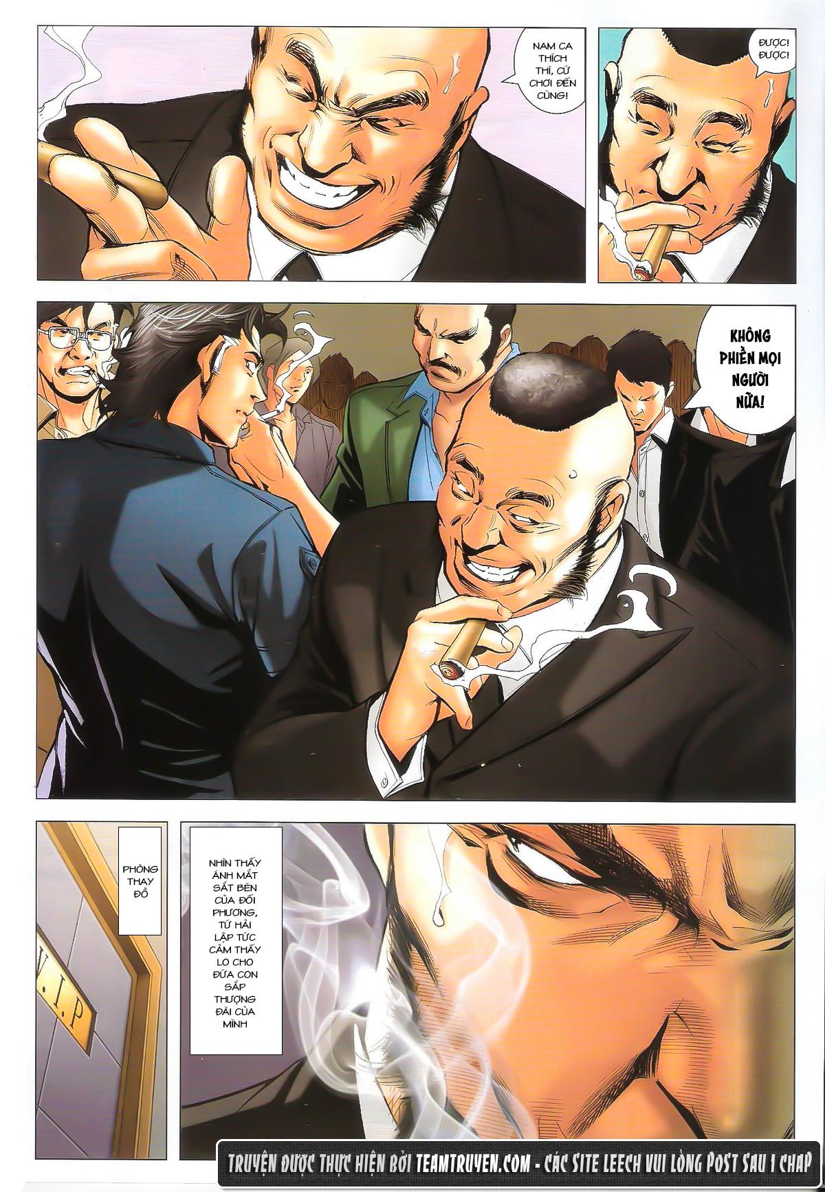 Người Trong Giang Hồ chapter 1632: ác chiến la tâm tả trang 13