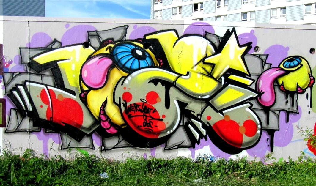 Gambar Grafiti Yang Sangat Keren | Kumpulan Gambar