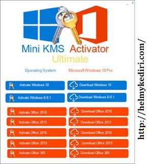 Aktivasi windows 10 menggunakan KMS Ultimate