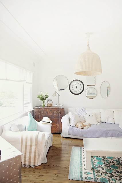 How To Decorate With Mirrors Without Frame 1