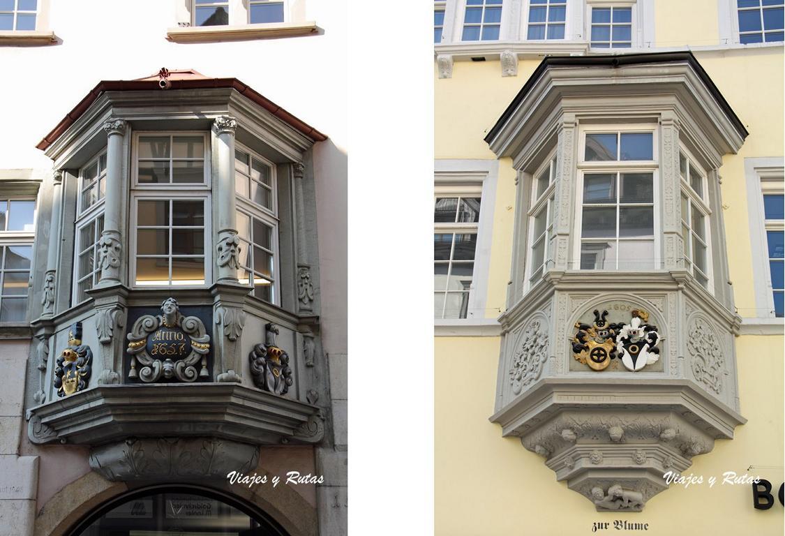 Qué ver en Schauffhausen, sus ventanas