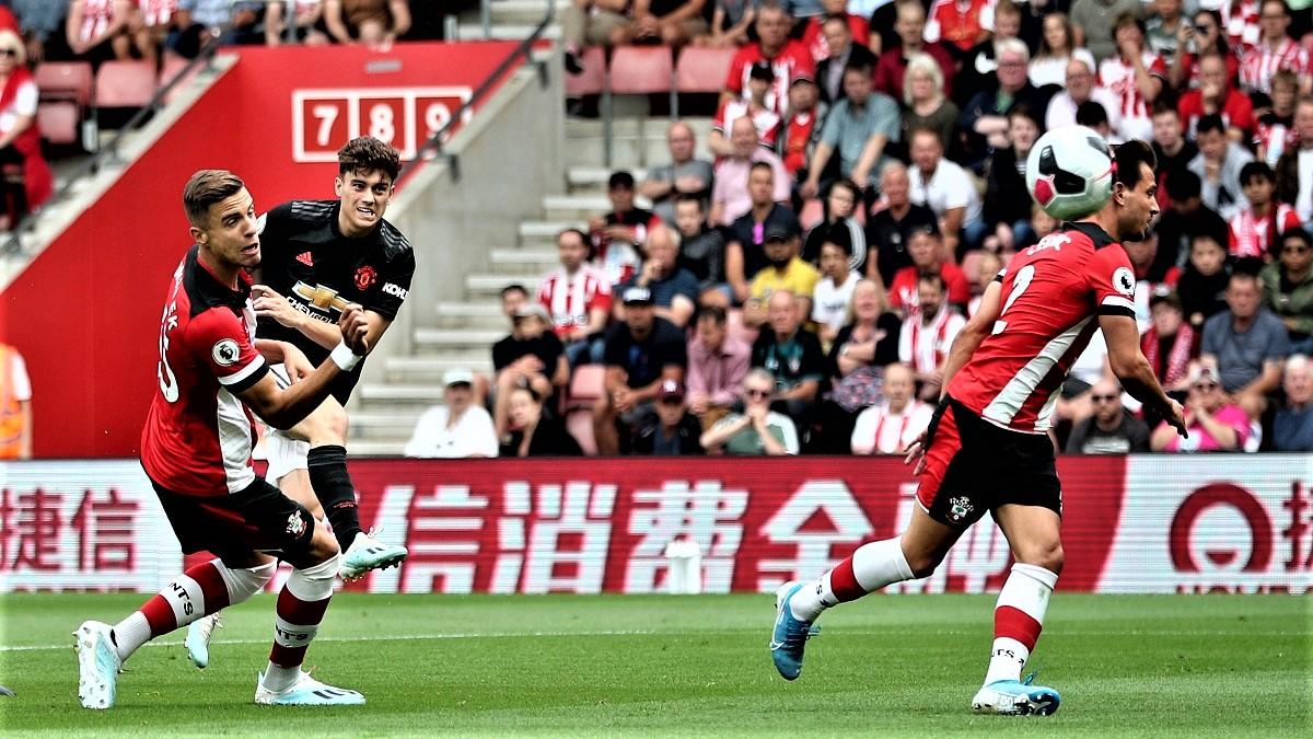 ملخص مباراة مانشستر يونايتد وساوثهامبتون 1-1 فى الدوري الإنجليزي