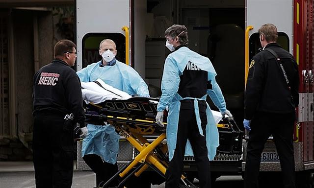 Coronavirus: Estados Unidos registró más de 2000 fallecidos, una cifra récord de muertes por covid-19 en un solo día