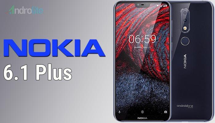 selaku pemegang linsensi resmi merk Nokia Harga Nokia 6.1 Plus (Nokia X6) Terbaru 2018 - RAM 4GB, Storage 64GB