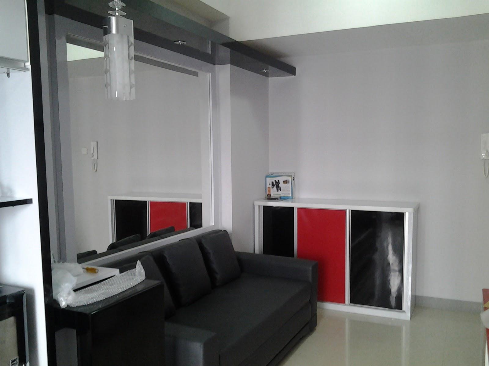CV TRIDAYA INTERIOR Desain Interior Ruang Tamu Apartemen CV