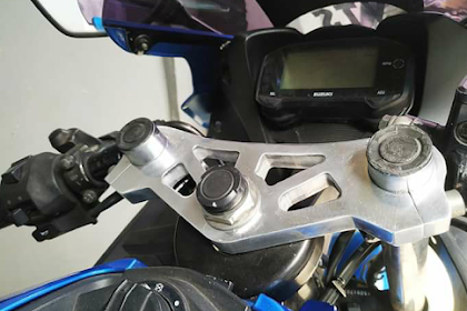 Bikin Ganteng Kokpit Suzuki GSX R150 Dengan Kokpit Ini