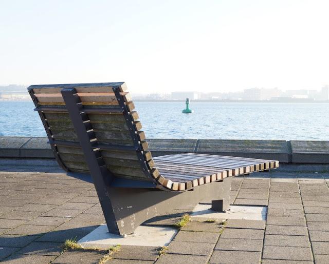 Kiellinie Kieler Förde Aussicht Liege Sitzplatz