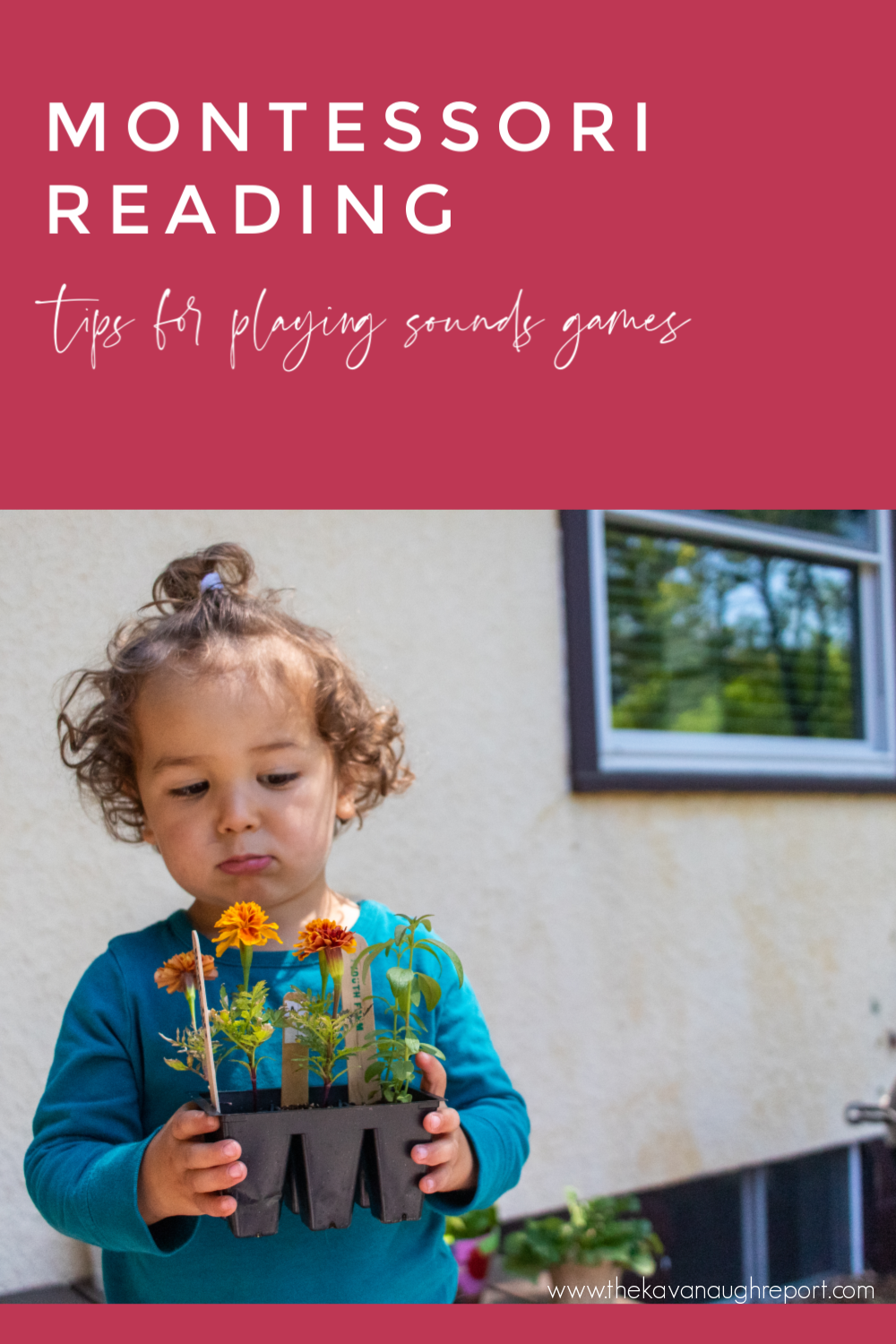 Sound games are a perfect Montessori activity to help your child learn to read and write. Here are some tips for Montessori parents on using them at home.