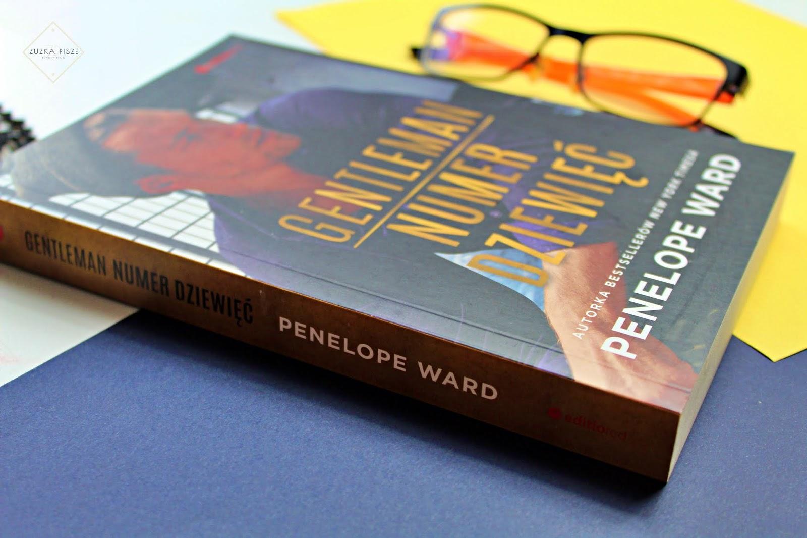 """Penelope Ward """"Gentleman numer dziewięć"""" - recenzja książki"""