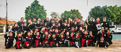 36 Peserta Perguruan Silat Cinong Bekasi, Ikut UKT, Ini Harapan Jamaludin Ketum GECB