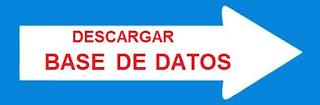Descargar Base de Datos para Carreteras