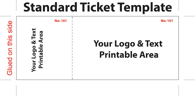 Cheap Ticket Printing Template