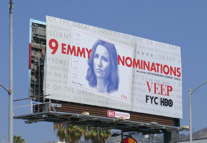 Veep final season 9 Emmy nominations billboard