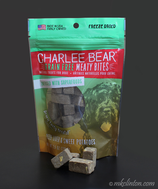 Charlee Bear Grain Free Meaty Bites Beef Liver & Sweet Potatoes