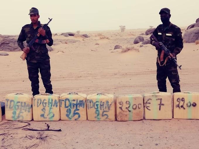 El Ejército saharaui incauta 200 kilos de hachís procedente de Marruecos en plena guerra en el Sáhara.