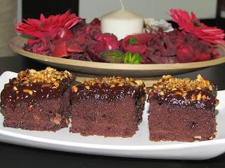 Negresa cu alune de padure / Brownie with hazelnuts