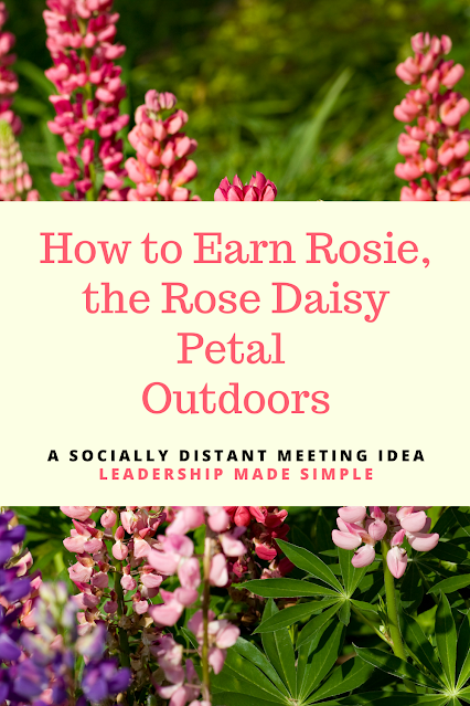 How to Earn the Rose Daisy Petal Outdoors