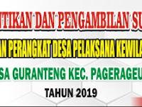 Download Contoh Spanduk Pelantikan Perangkat Desa.cdr