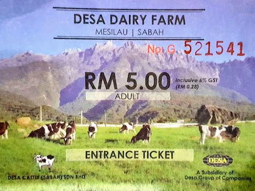 Tiket Dewasa Desa Dairy Farm