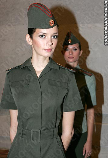 Beautiful Russian Women Army  Women Army-2675