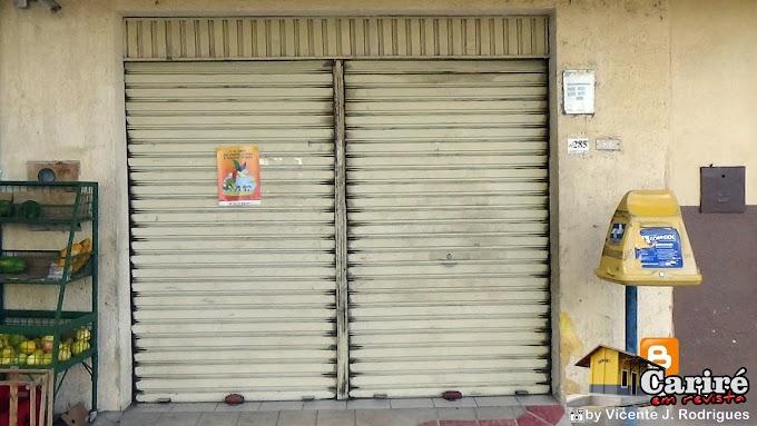 Agência dos Correios de Cariré está fechada temporariamente