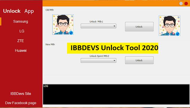 الأداة الجديدة  IBB DEVS Unlock Tool لفك شفرات معظم اجهزة الأندرويد