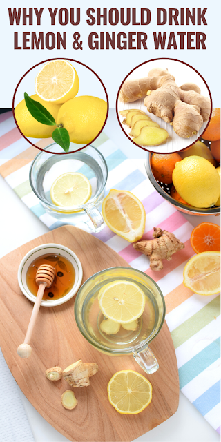 Boost Your Metabolism With Lemon Ginger Water