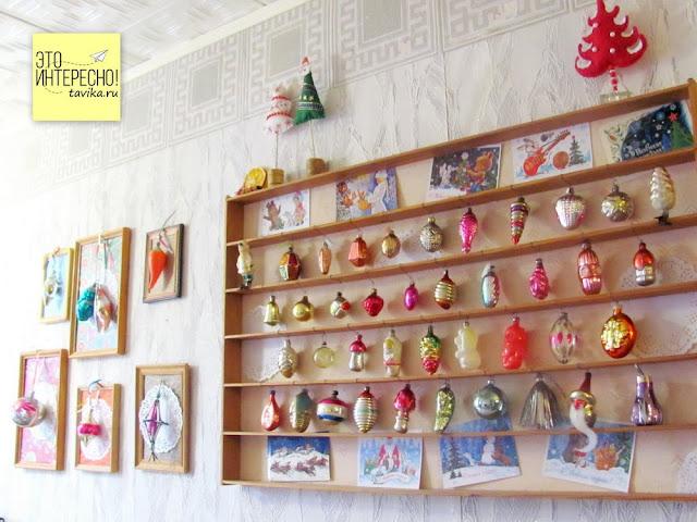 елочные  игрушки СССР коллекция
