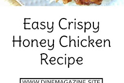 Easy Crispy Honey Chicken Recipe