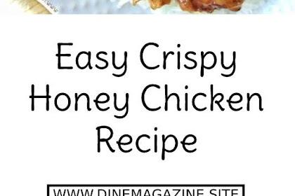 Easy Crispy Honey Chicken Recipe #chickenrecipe #chicken