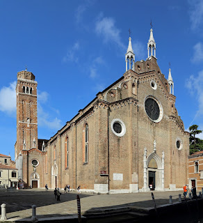 The church of Santa Maria Gloriosa dei Frari