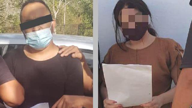 Pareja detenida por violación y encubrimiento contra una menor